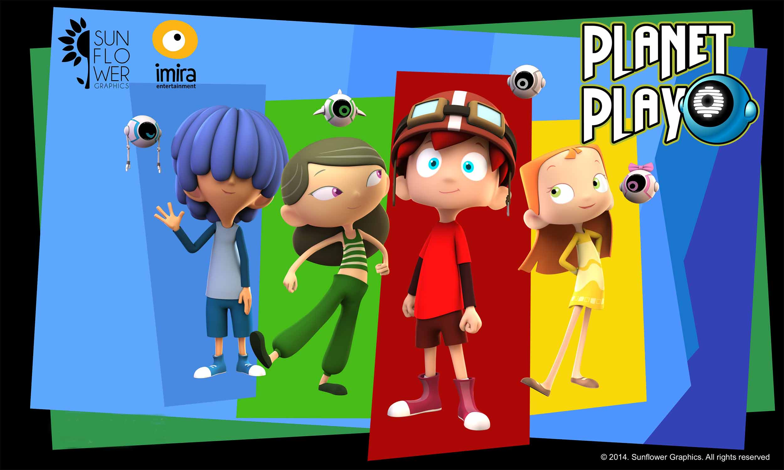 serie de animación Planet Play