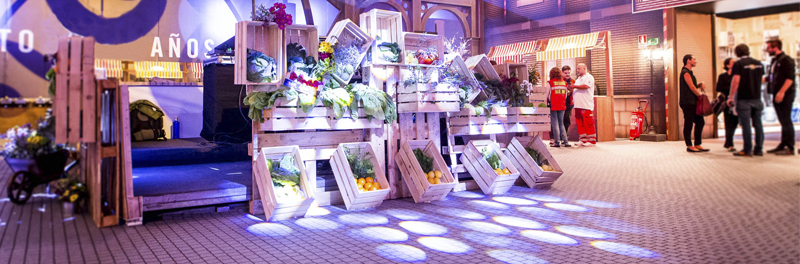 Decoracion eco friendly para eventos - Blog Many Colors