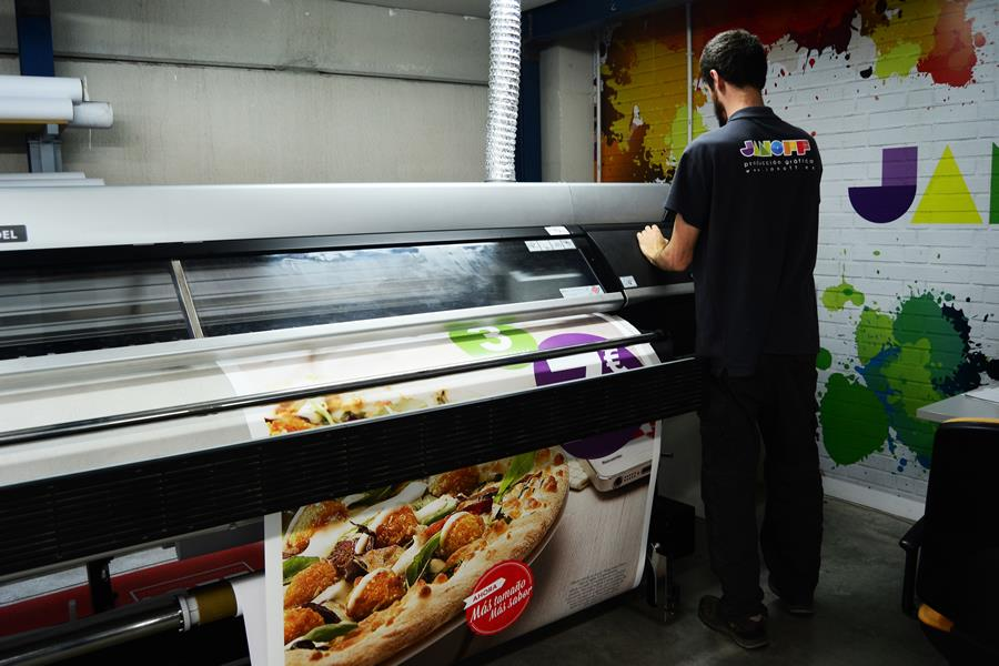 Large format printing services - Janoff