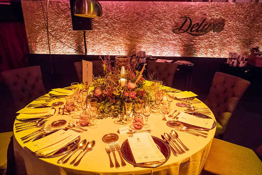 Elements indispensable to a gala dinner - Many Colors Group